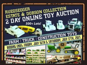 Ruegsegger Estate & Dobson Collection Farm Toy Auction featured photo 1
