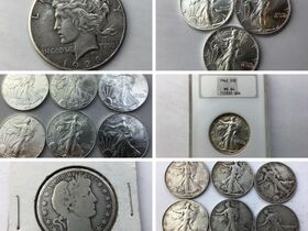 Silver Dollars, Halves, Quarters, Rounds 2 of 4 featured photo 1