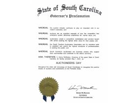 Auctioneers Day in South Carolina featured photo 1