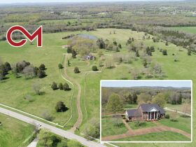 126+/- Acres Offered in Tracts - Beautiful Brick Home - in Chapel Hill, TN - AUCTION COMING SOON! featured photo 1