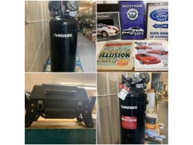 Air Compressors, Tools, Building Materials/Supplies & Personal Property at Absolute Online Auction featured photo 1