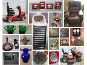 2017 Gatsby Vintage Mobility Scooter, Coins, Collectibles & Antiques, Glassware & So Much More! featured photo 1