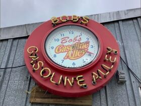 Bob's Gasoline Alley Signs, Clocks, & Thermometer Collection featured photo 1