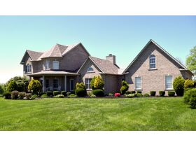 BEAUTIFUL 5 BED, 4.5 BATH HOME W/BASEMENT ON 44+/- ACRES WITH POND - ONLINE AUCTION - Shelbyville, KY featured photo 6