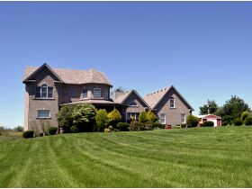 BEAUTIFUL 5 BED, 4.5 BATH HOME W/BASEMENT ON 44+/- ACRES WITH POND - ONLINE AUCTION - Shelbyville, KY featured photo 5