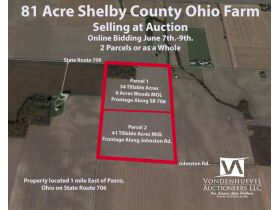 81 Acre Shelby County Farm Auction featured photo 1