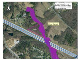10 Day Upset Period In Effect- NCDOT Asset 206477 - 7.638+/- AC Mecklenburg County NC featured photo 1
