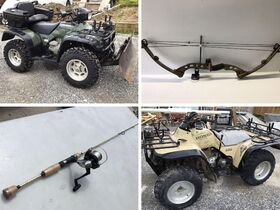 4-Wheelers, Compound Bows, Fishing Rods, Tools featured photo 1