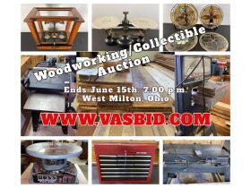 Woodworking and Tool Auction featured photo 1