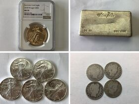 Gold Eagle, American Eagles, Silver Bars 4 of 4 featured photo 1