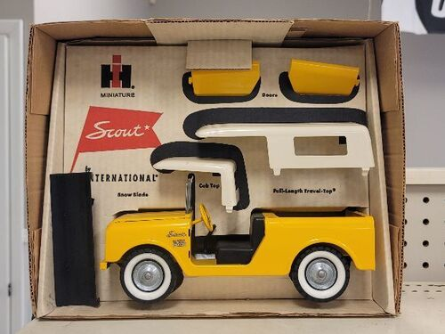Faeth IH Scout and Truck Toy Collection featured photo