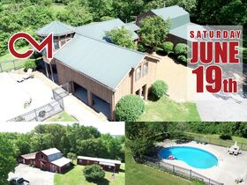 Serenity Hill - A Hidden Gem - 4 BR, 3.5 BA Home on 6.06+/- Acres For Sale in Nashville - Auction June 19th featured photo 1