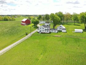 Kidron Area Iconic Farmstead & Building Lots featured photo 1