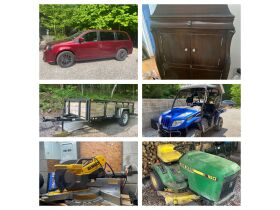 Vehicle, ATV, Trailer, Furniture, Tools and Personal Property at Absolute Online Auction featured photo 1