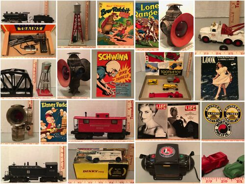 Collectible Trains, Toys & Comics Auction - Online Only featured photo