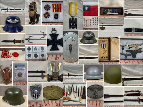 American, German, Japanese Swords and Militaria Auction No.1 - Online Only featured photo