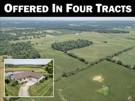 213+ Acre Harrison County Real Estate Online Only Auction featured photo 1