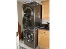 LG Stackable Washer & Dryer, Eclectic Furniture, Variety of Collectibles & More! featured photo 2