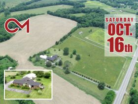 Beautiful 50+/- Acre - Farm in Bethpage with House, Shop and Outbuildings - Offered in Tracts - AUCTION Oct. 16th featured photo 1