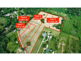 23 +/- ACRES SELLING IN 4 TRACTS; MINI FARM; POTENTIAL BUILDING SITES featured photo 2