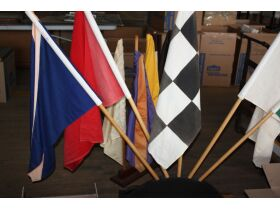 Indy 500 racing flags