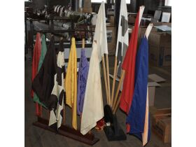 set of racing flags from Indianapolis Motor Speedw