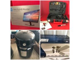 Electronics, Collectibles, Lamps, Tools, Outdoor Items & More at Absolute Online Auction featured photo 1