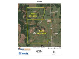 215+/- acres in Noble County Oklahoma - Perry/Orlando Area featured photo 1