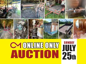 NEW LOTS ADDED! Tractors, Farm Equipment, Household Items, Furniture and More - Online Personal Property Auction ends July 25th featured photo 1