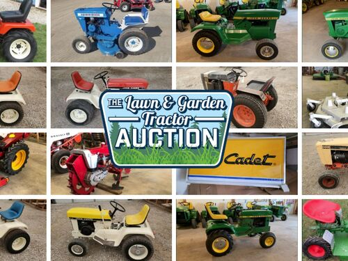 Garden Tractor Consignment Auction Day 1 featured photo