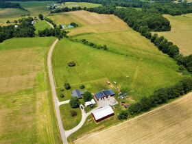 House, Garage, Barn and 46+/- Acres; Farm Equipment & Personal Property at Absolute Multi-Par Auction featured photo 2
