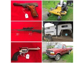 Firearms ~ Farm Machinery & Personal Property - Absolute Online Only Auction featured photo 1