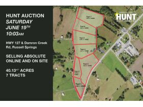 40.13 +/- ACRES SELLING ABSOLUTE IN 7 TRACTS featured photo 1