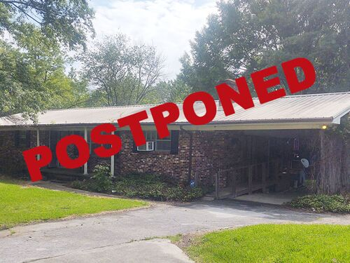 POSTPONED:  Estate Auction:  3-Bedroom Brick House On 6 Acres± featured photo