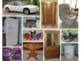 2001 Oldsmobile, Riding Mower, Sterling Flatware, Antique Furniture, Home Collectibles & More! featured photo 1