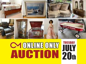 ONLINE ESTATE AUCTION featuring Household Items, Furniture, Collectible Dolls and More! featured photo 1