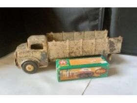 THE BILL HOLT ESTATE AUCTION #3, MORE TRACTORS, DIE CAST CARS, VINTAGE METAL COIN BANKS, PRIMITIVE TOOLS, LINCOLN LOGS AND MORE TOYS! featured photo 11