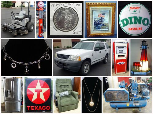 Petroliana, Coins, Jewelry, Furniture, And More featured photo