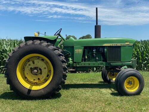 Elliott Estate including John Deere 4000 tractor, farm toys and more! featured photo