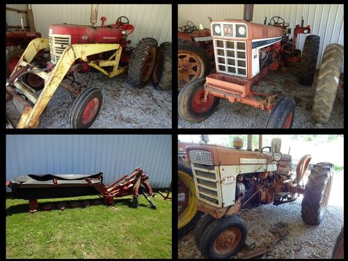 TRACTORS - TRAILERS - FARM EQUIPMENT - TOOLS - Online Bidding Ends TUE, JULY 20 @ 4:00 PM EDT featured photo