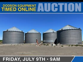 July Dodson Equipment Timed Auction - Day 2 featured photo 1