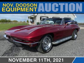November Equipment Auction featured photo 1