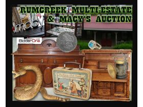 RUM CREEK AUGUST MULTI-ESTATE & MACY'S STORE STOCK AUCTION featured photo 1