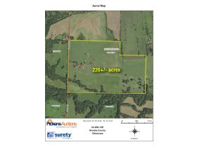 HIGHLY PRODUCTIVE GRASS FARM-SOUTH COFFEYVILLE AREA-NOWATA COUNTY, OK LAND AUCTION - 220+/- acres SOLD AS 1 UNIT featured photo 1