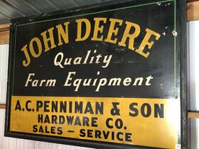 John Mowery Estate Signs, Equipment, Vintage Lawn Mower, Memorabilia and Toy Collection featured photo 12