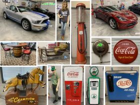 Shelby GT 500 KR, Collection From Bob Rynard Gas Pumps, Signs, Cans and Much More Closing July 20th featured photo 1