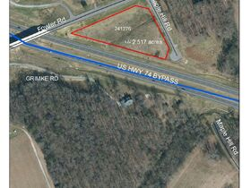 10 Day Upset Period in Effect- NCDOT Asset 241276 - 2.52+/- AC, Monroe, Union County NC featured photo 1