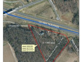 10 Day Upset Period In Effect- NCDOT Asset 809 Fowler Rd - House and 7.092+/- AC, Monroe, Union County NC featured photo 1