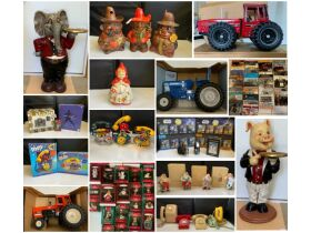 The Bill Holt Estate ~ Cookie Jars, Coin Banks, Collectible Phones, Hallmark Ornaments & Vinyl Records Auction #2, featured photo 1