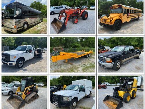 July Vehicles and Equipment Auction - Pearce Auction Center featured photo
